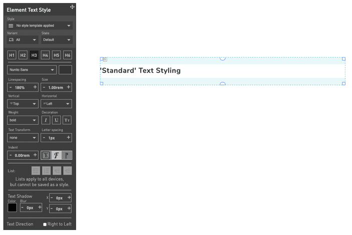 Element_Text_Styling